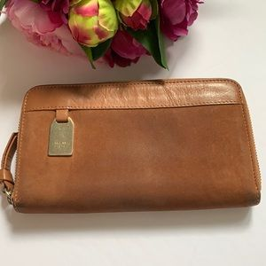 Authentic See by Chloe suede/leather wallet used